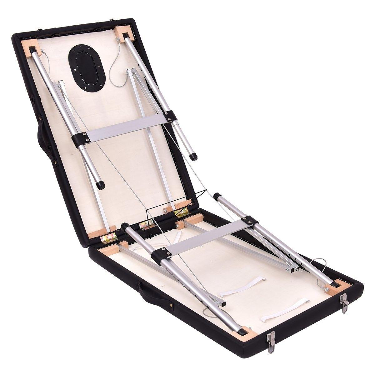 "Giantex 72""L Portable Facial Bed Tattoo w/F"