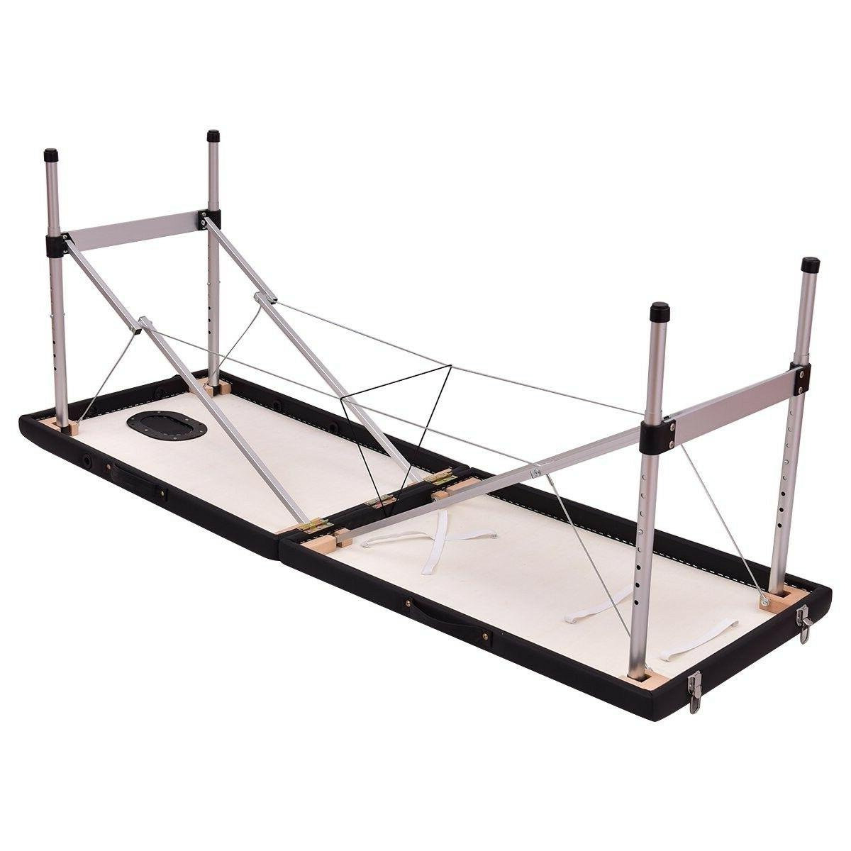 Giantex 2 Portable Table Aluminum Facial SPA w/F