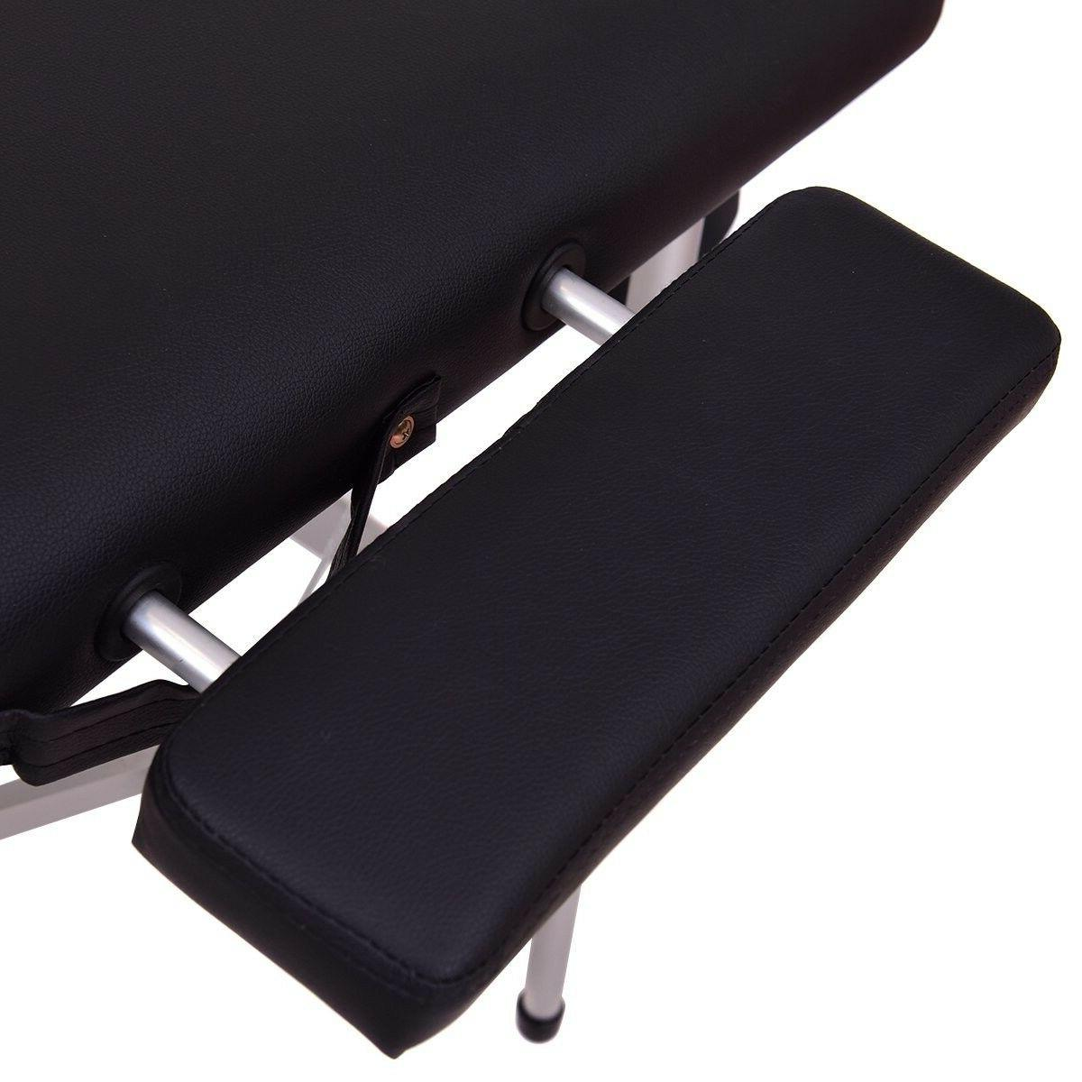 Portable Table Aluminum Facial SPA Bed Tattoo w/F