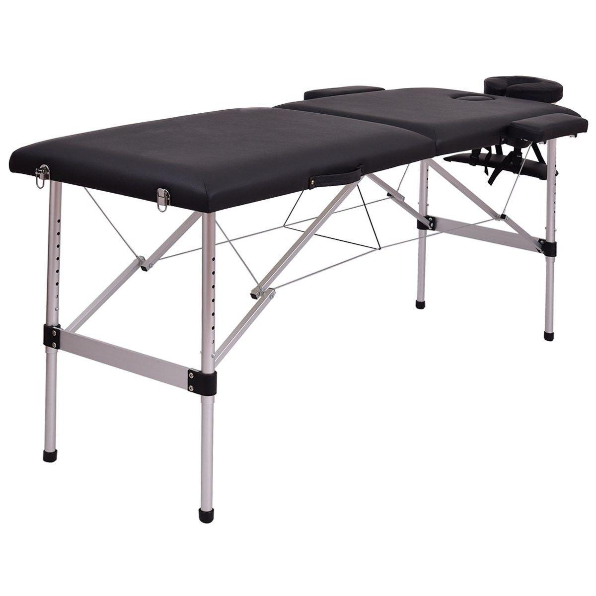 72 l 2 section portable massage table