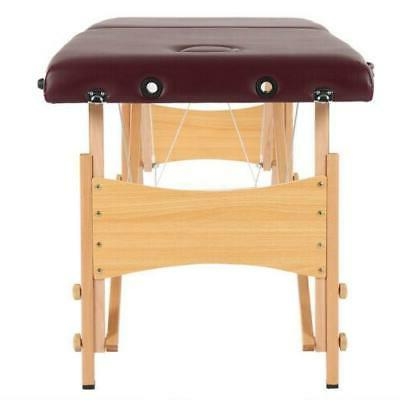 "82""L Portable Table Bed Spa Carry 2 Fold"