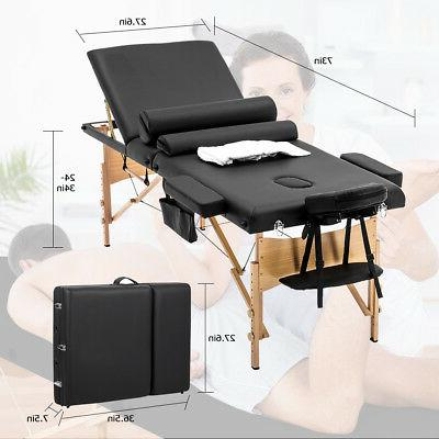 BestMassage Portable Massage Table W/ Sheet Case 3