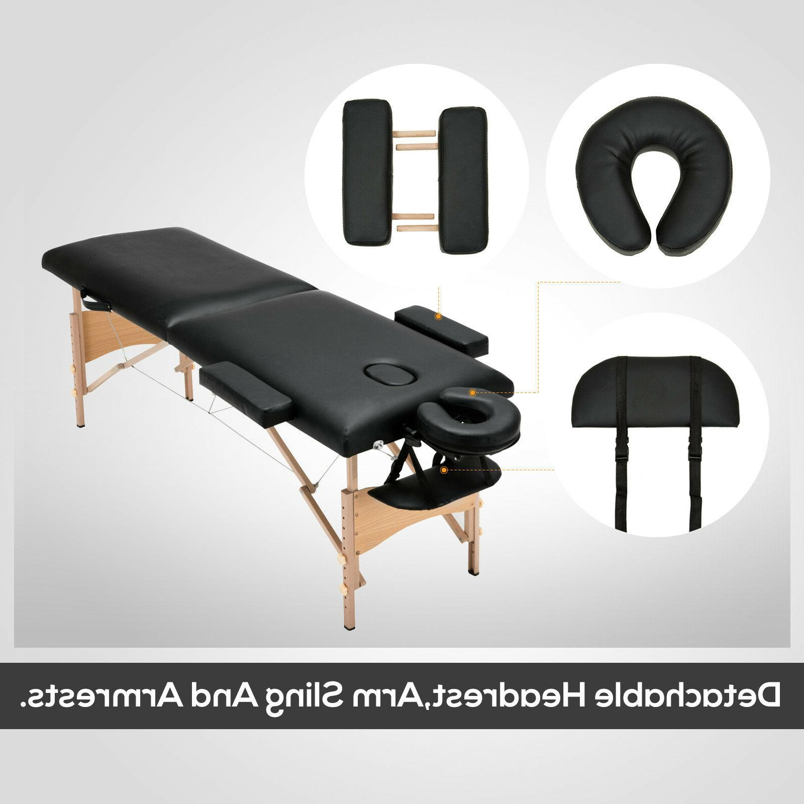 "84""L Foldable Portable Bed Tattoo Case"