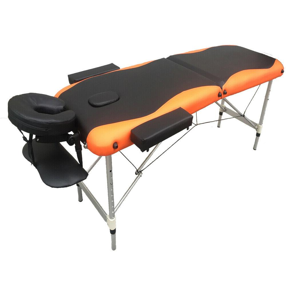 """84""""L Fold Portable Bed Tattoo Free Carry Case"""