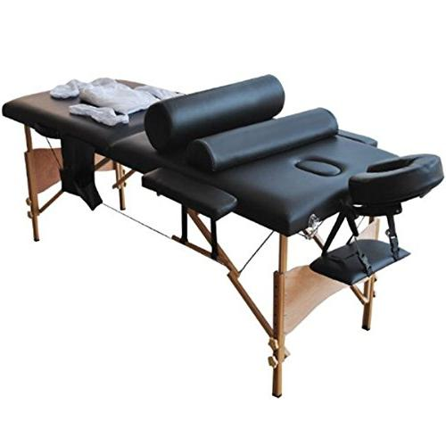 "Giantex 84""l Massage Table Portable Facial SPA Bed W/sheet+c"