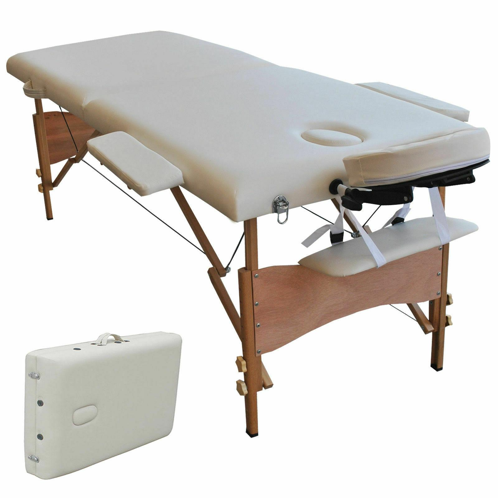 84 l portable massage table
