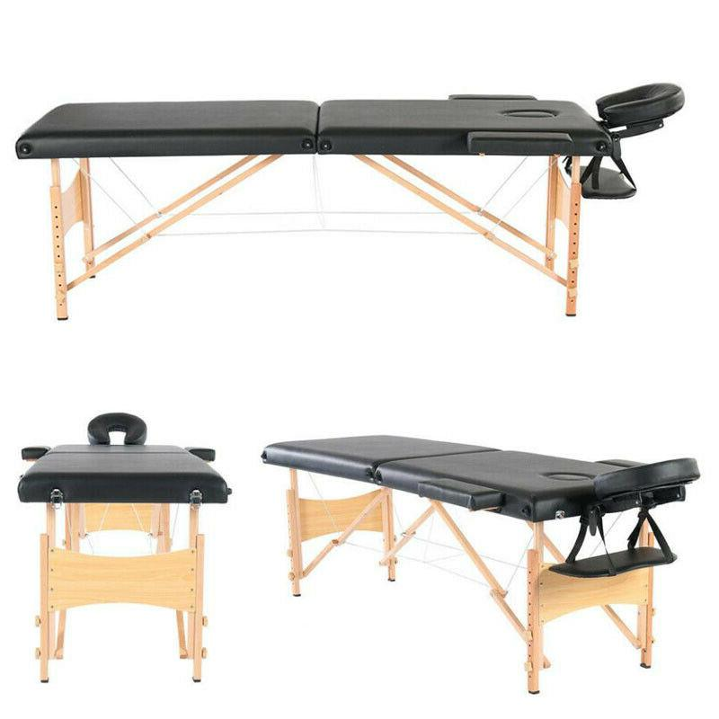 Portable Massage Bed with 84''