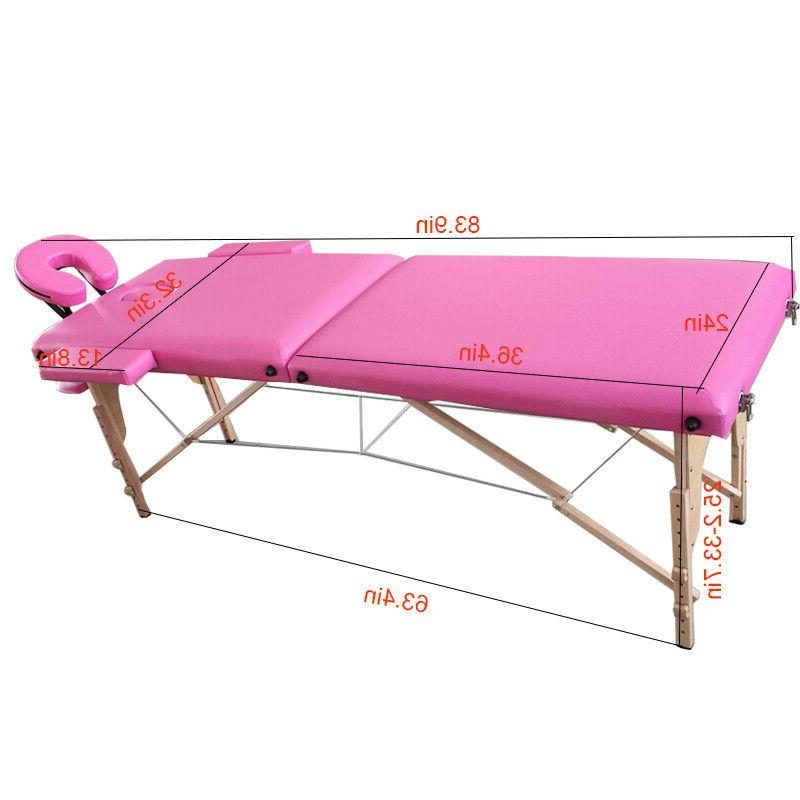84'' 2-Fold Bed Foldable Carry