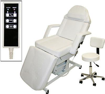White FULLY Electric Massage Facial Table Bed Chair Beauty S