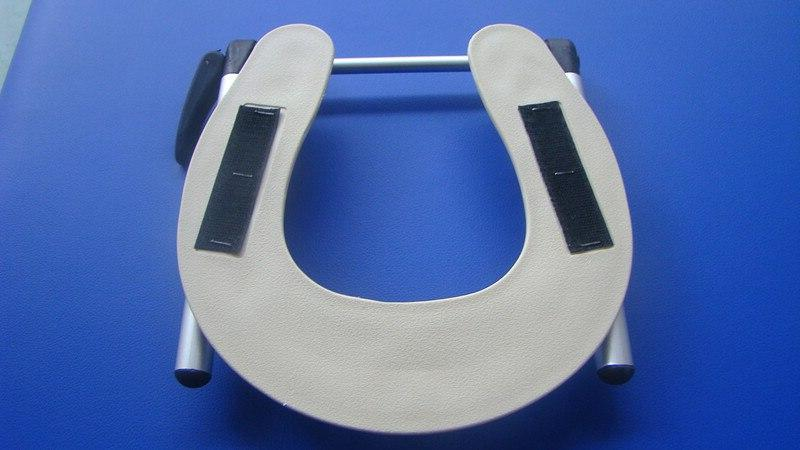 Adjustable Aluminum Headrest <font><b>Face</b></font> Durable <font><b>Massage</b></font> Rest For Beauty Spa