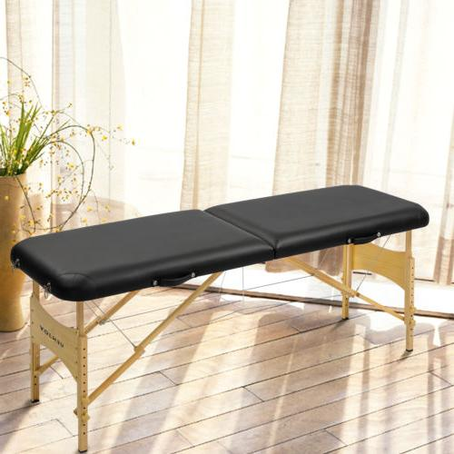 "73""L Pro Fold Massage Table SPA Bed Tattoo Bag"