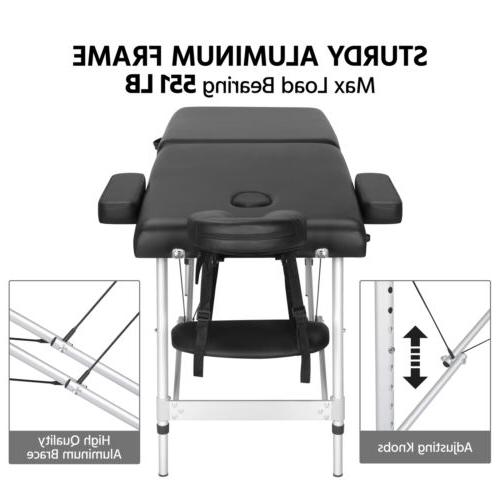 Adjustable Massage Folding Table Carrying