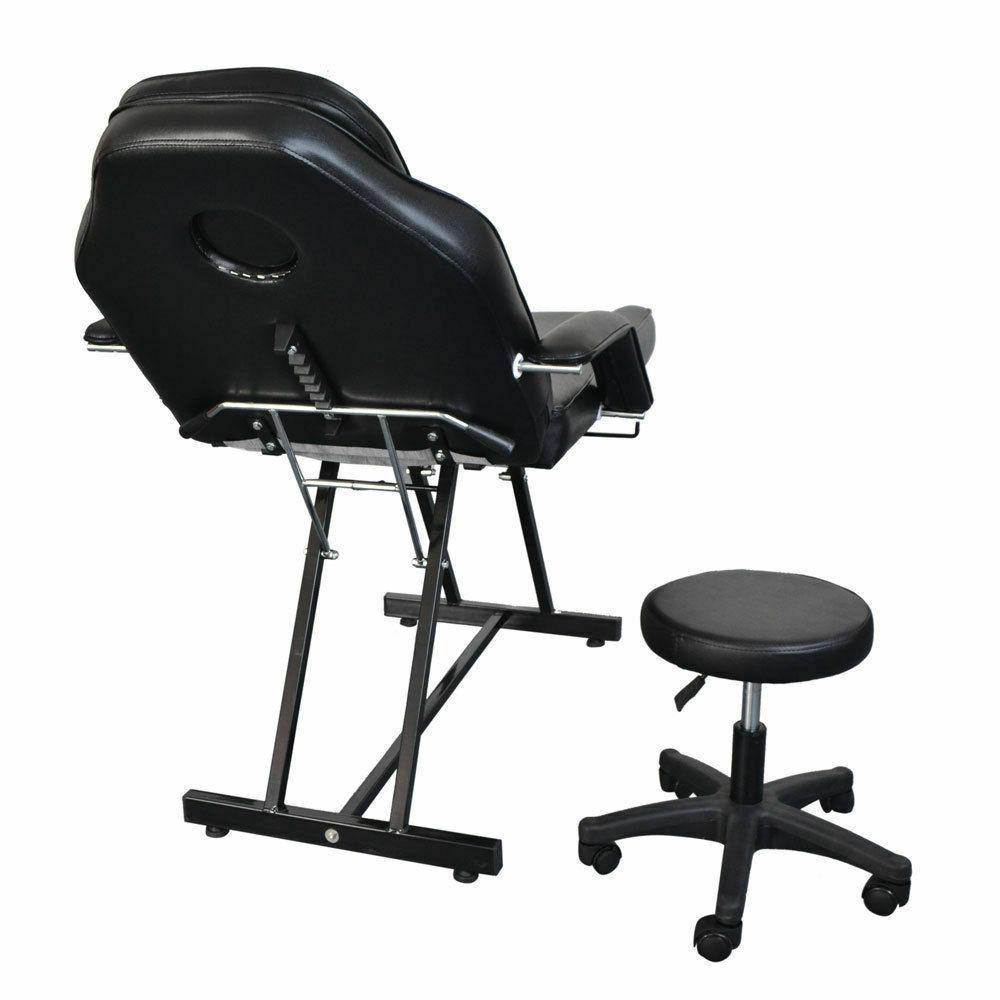 Bed Facial Barber Chair Equipment Black