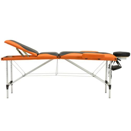3 Table Aluminum Facial Bed Tattoo with Carry Case