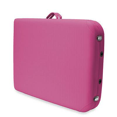 Basic Portable Folding Table Hot Pink