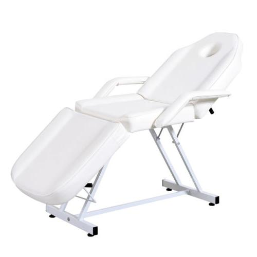 Beauty Salon Chair Table Bed Facial White