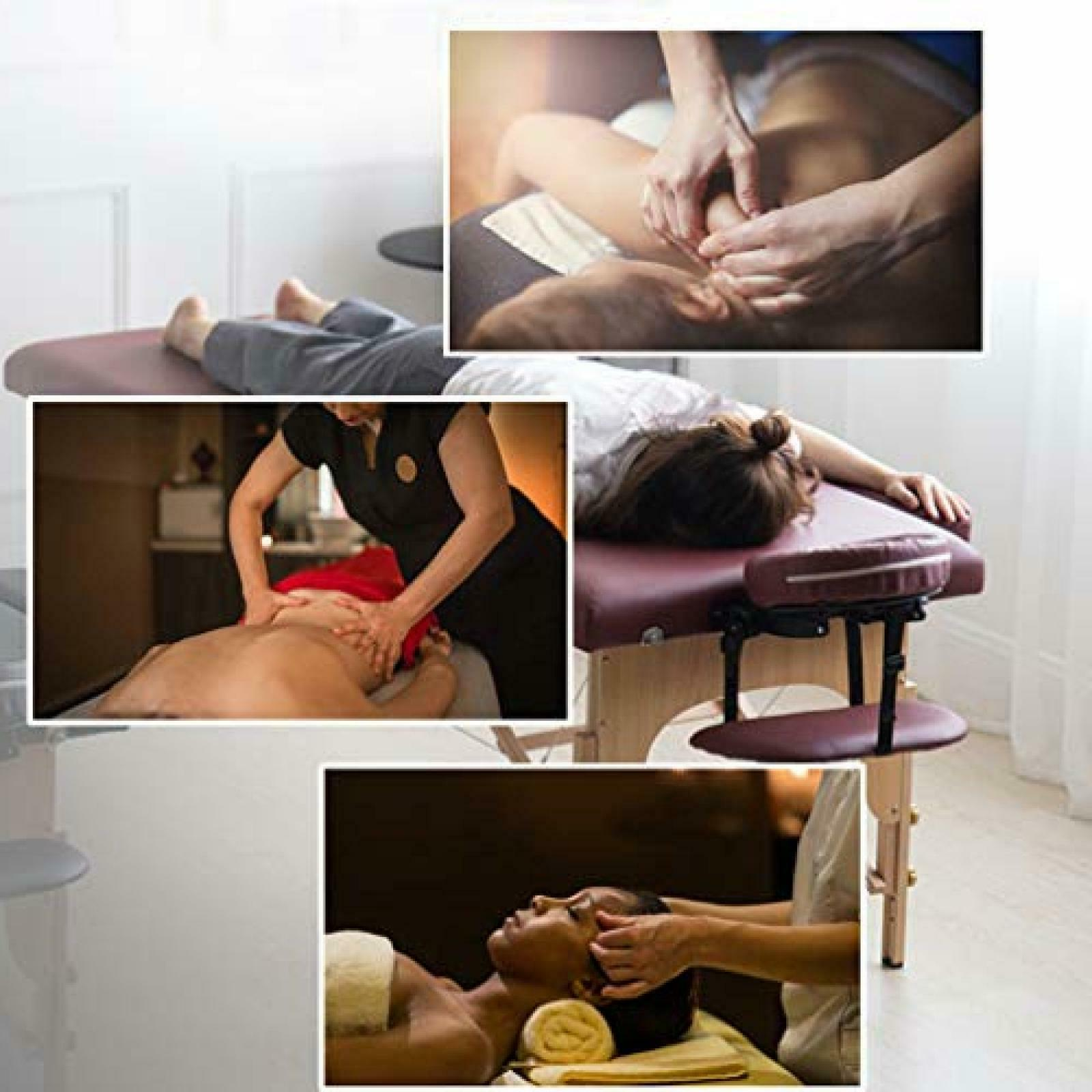 BestMassage Burgundy Portable