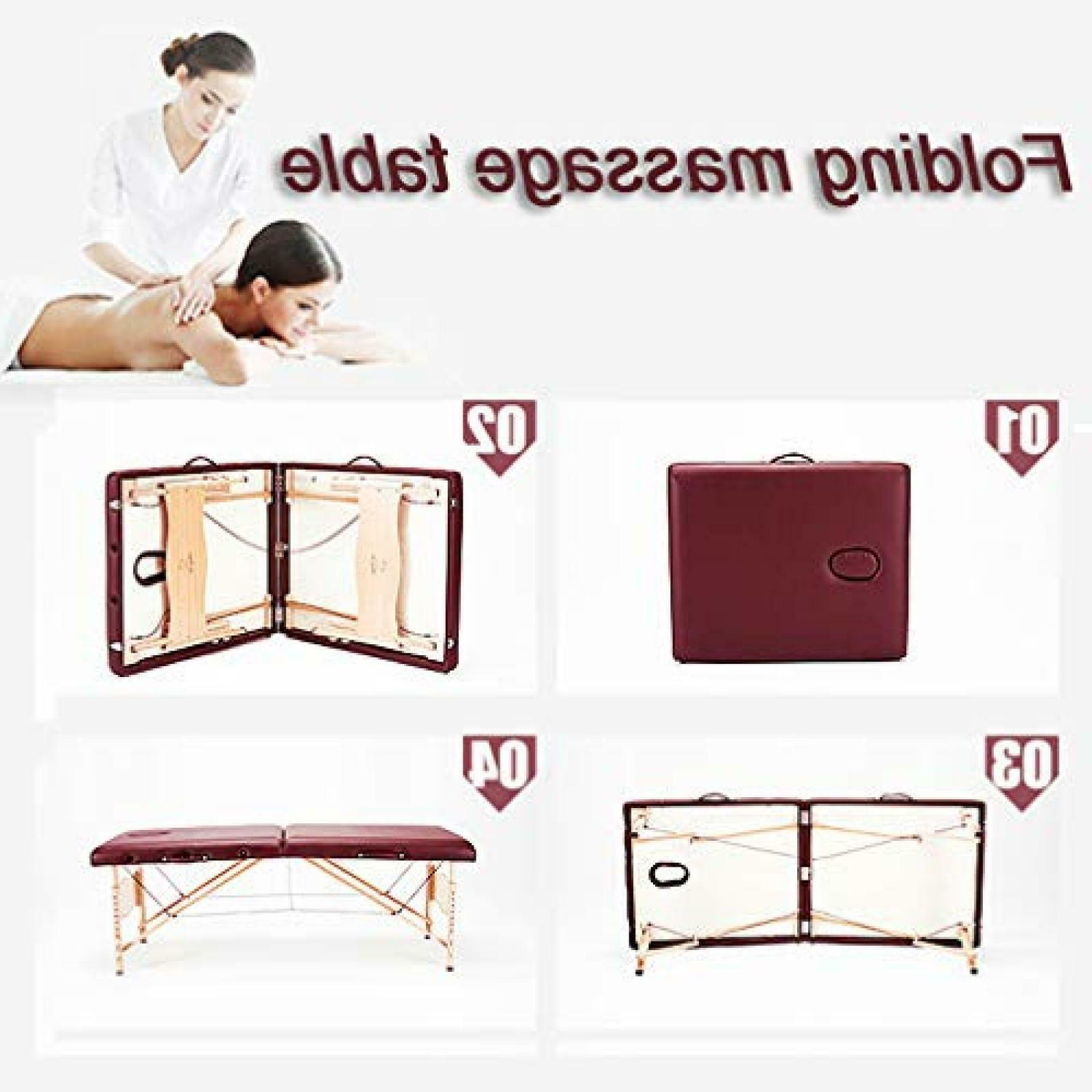 BestMassage Fold Portable Table
