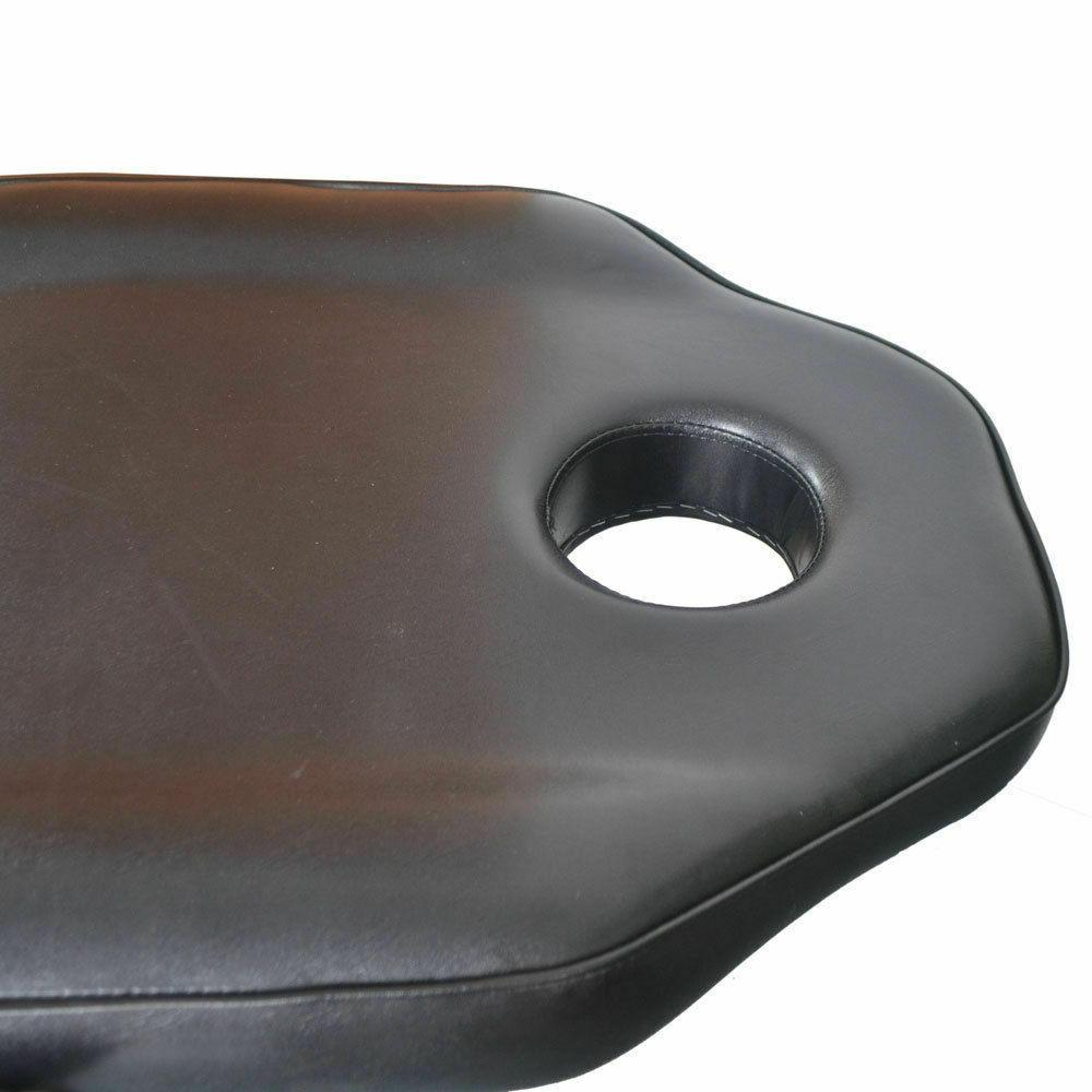 Black Facial Bed Spa Massage Bed Table Chair Commercial