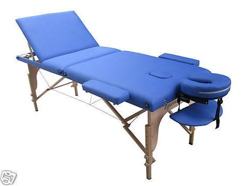 Blue New Massage w/Free Carry Case T1 Chair Bed Spa Facial