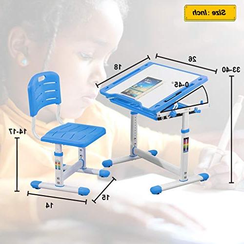 Height Children's Set with Storage for