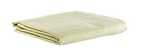 deluxe flannel flat massage sheet