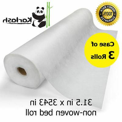 disposable non woven bed sheet roll massage