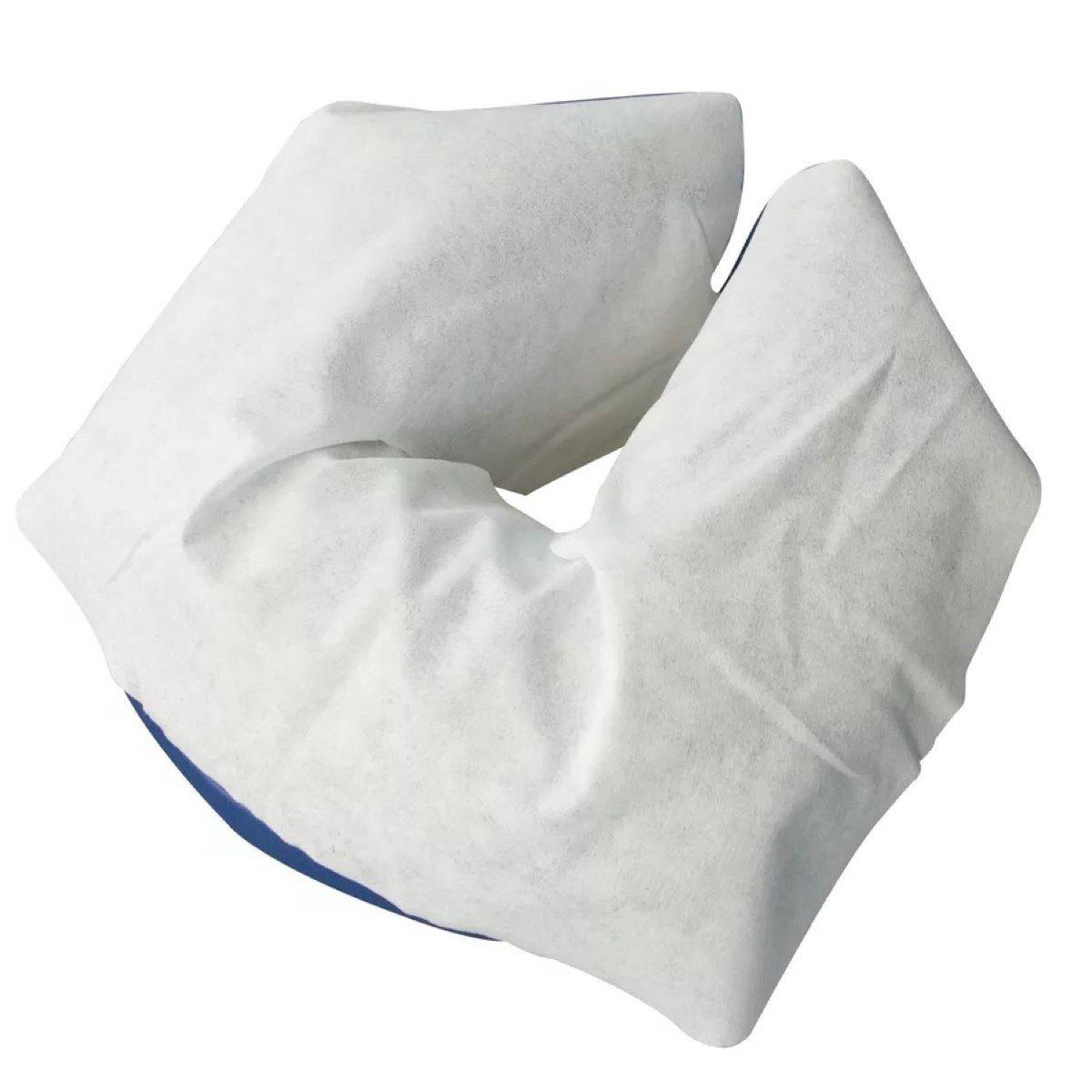 Disposable Pillow Paper Salon Bed <font><b>Table</b></font> Cover Face Cradle <font><b>Table</b></font> Rest 100Pcs