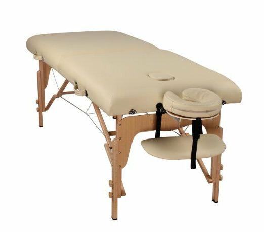 "Heaven Massage Extra Wide 3"" Portable Folding Massage Table"