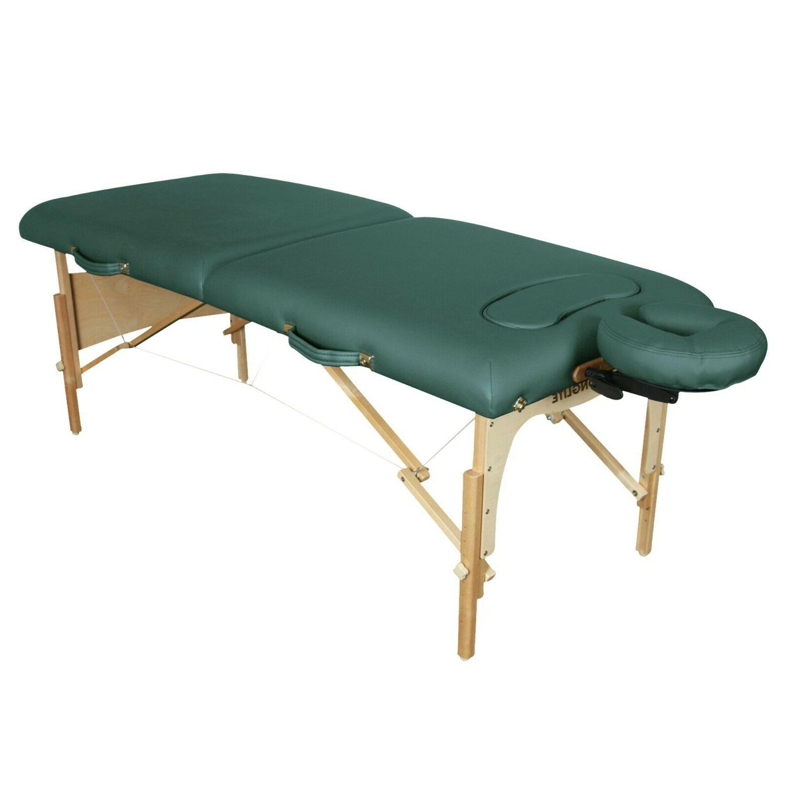 figure fit massage table package teal