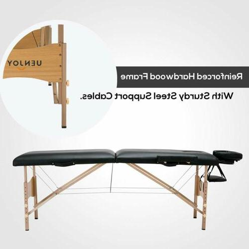 Foldable Professional Massage Fasical Bed w/ Free New