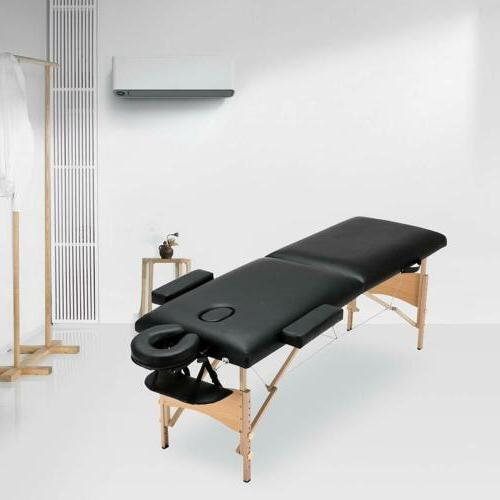 Foldable Massage Fasical Bed w/ Free Case New