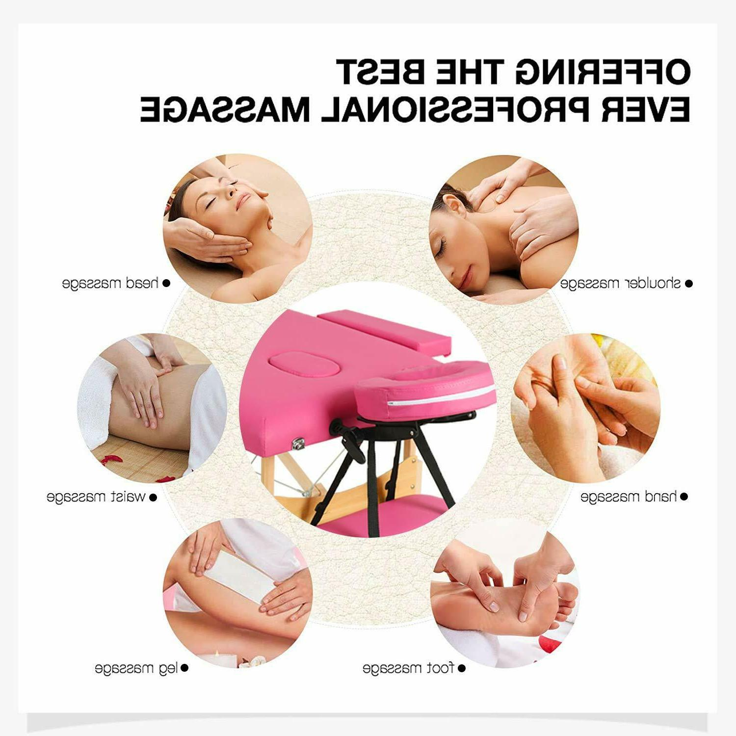 Folding Massage Table Professional Bed Fold Bed with