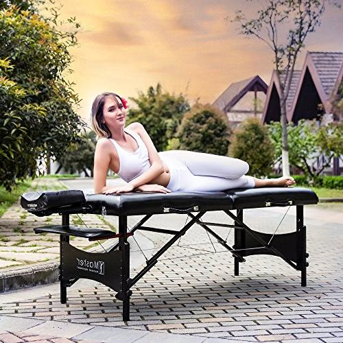 Master Galaxy Lx Massage Table Package Black Memory Foam
