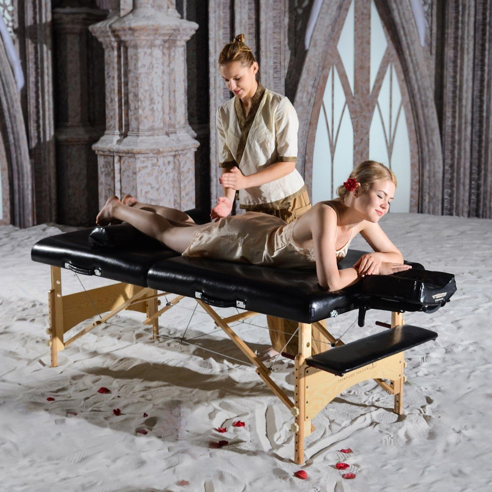 Master Massage 32 inch Extra Large Gibraltar Portable Salon