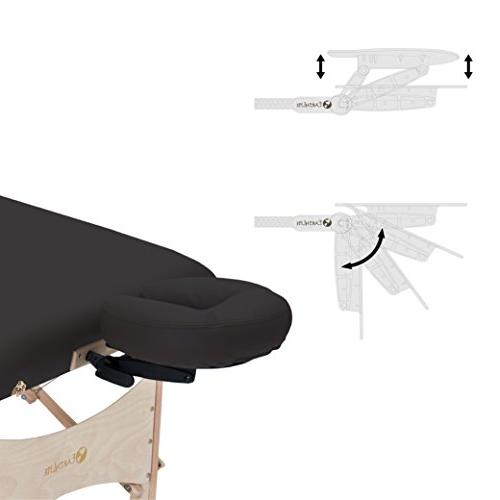 EARTHLITE Table HARMONY DX – Design, Superior Comfort, Adjustable Face