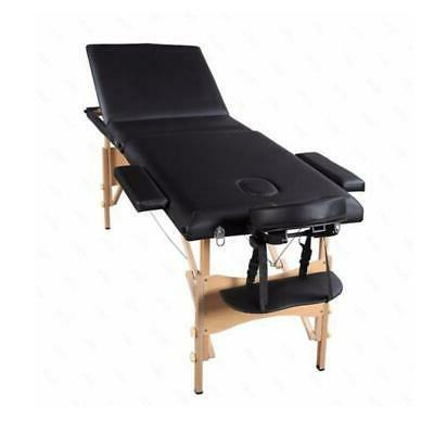 "Heavy Duty Therapy Portable 84""Fold SPA Beauty Bed+2 Sheet"