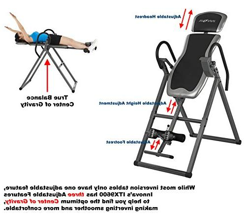 Innova ITX9600 Inversion Table with Headrest