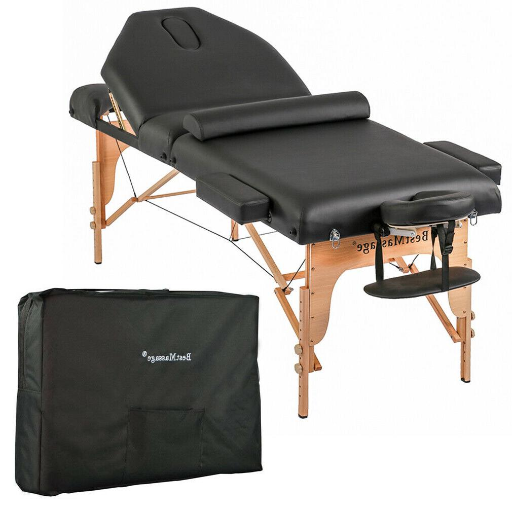 long wide padmassage table