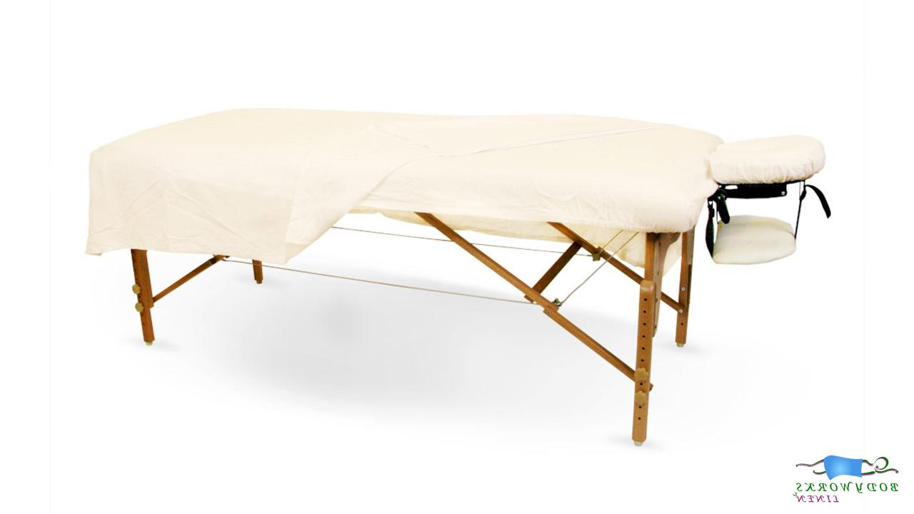 massage table 100 percent double brushed cotton