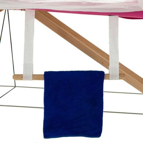 Massage Table Portable Bed 2 Pillows+Cradle+Sheet&Hanger