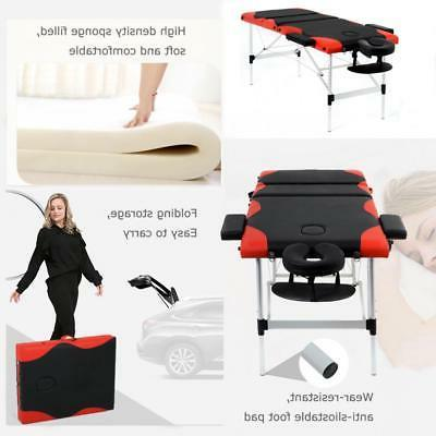 Massage Heigh 3 Cradle 84'' Portable Aluminium Bed