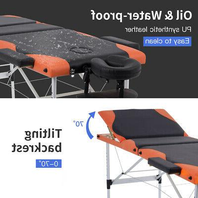 Massage Heigh 84'' Portable Aluminium