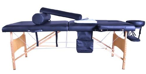 Massage Portable SPA Bed W/Sheet+Cradle Bolster+Hanger