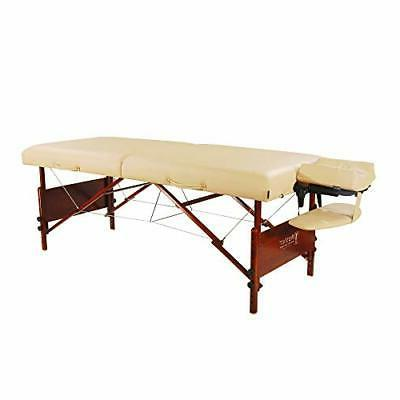 """30"""" Del Ray Pro Portable Massage Table Package, Sand Color,"""