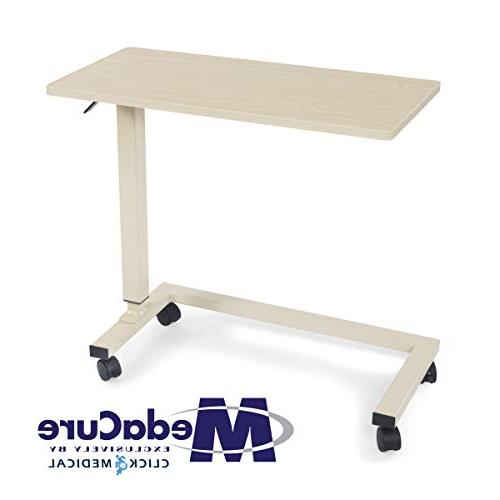 medical adjustable overbed table