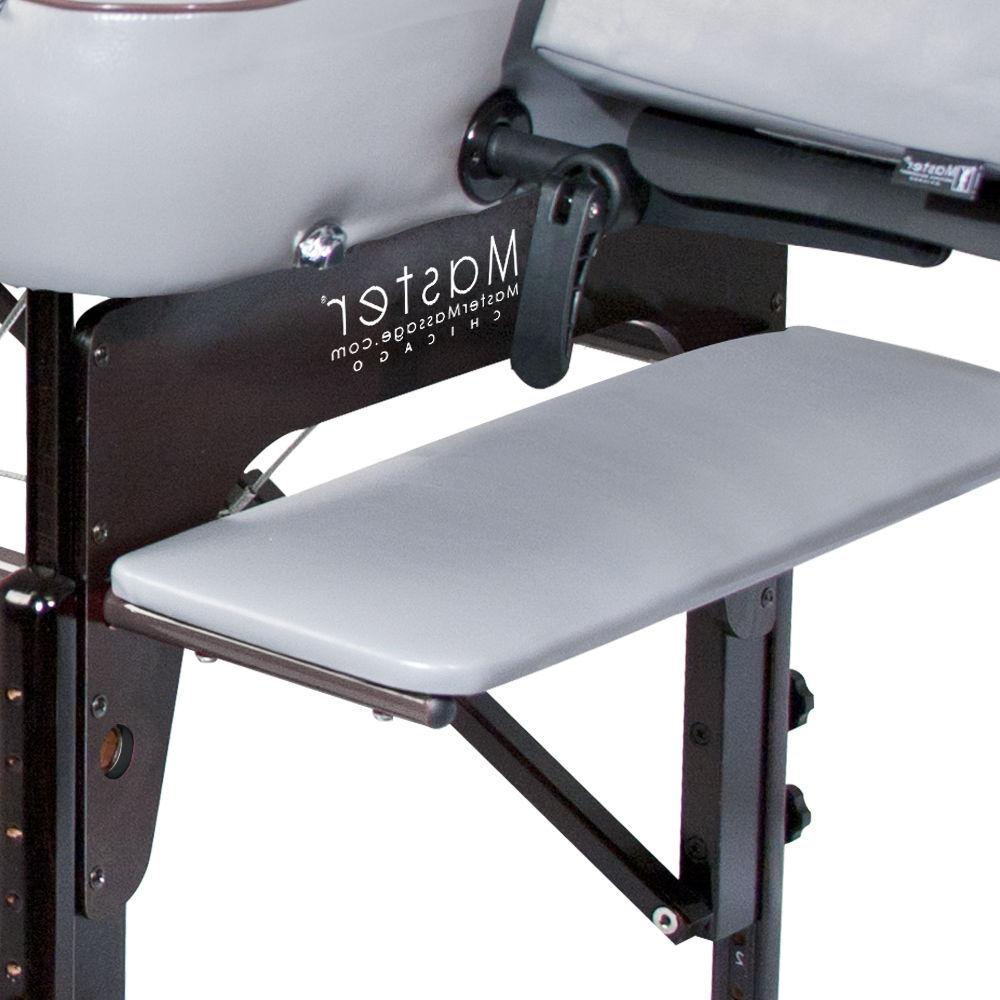 Master 30 inch Montour Portable Table Bed Grey