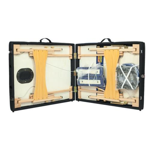 """New 84""""L 3 Portable Facial Bed Sheet Bolsters Carry Case"""