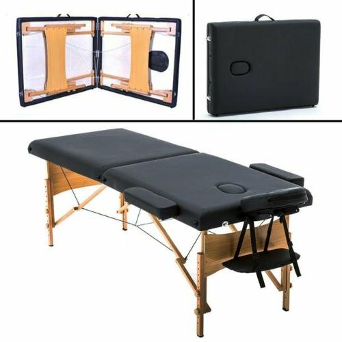 pad black massage table carry