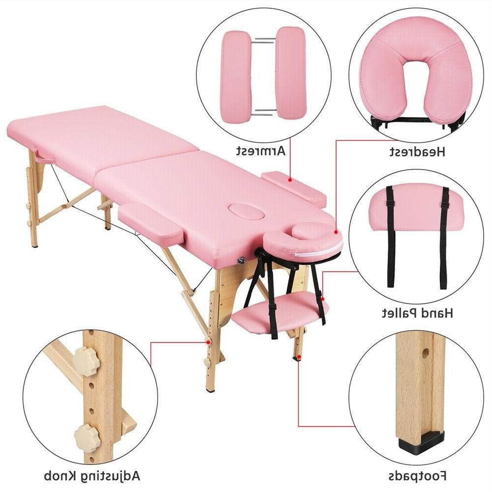 PINK 2 Folding Couch Portable